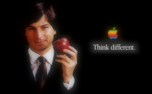 Steve Jobs with Apple - Think Different